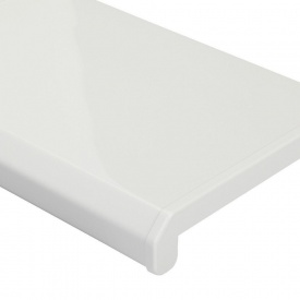 Підвіконня Danke Premium 1000х100 мм білий глянцевий антивандальний