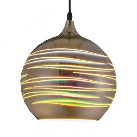 Світильник підвісний LASER Е27 3D-ефект круглий