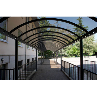 Монолитный поликарбонат Monogal 2050х3050х3 мм бронза