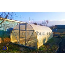 Теплица Урожайная с пленкой 3х8х2,3 м