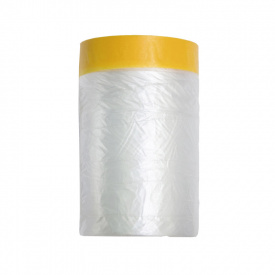 Захисна плівка з паперовою малярською стрічкою Color Expert 55 см 3 м