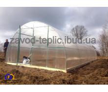 Теплиця з полікарбонатом 6 мм Слов'яночка 4х10 м