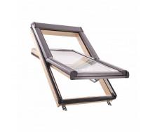 Мансардне вікно Roto Designo R45 H 74х118 см комплект вiкно+комiр