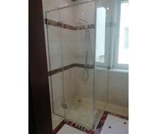 Душевая кабина стеклянная Студия закаленного стекла угловая 2000x900x1200 мм