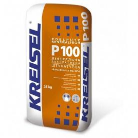 Минерально декоративная штукатурка Барашек 2 мм КREISEL Р100 25кг