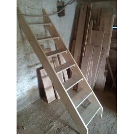 Драбина універсальна дерев'яна 60 см 2 м