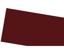 Лист алюминиевый гладкий 8012 каштановый 0.58х1000х2000 мм IVT