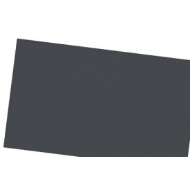 Лист алюмінієвий покрівельний Антрацит 0.58х1000х2000 мм IVT