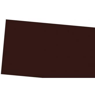 Лист алюминиевый гладкий коричневый 0.58х1000х2000 мм IVT
