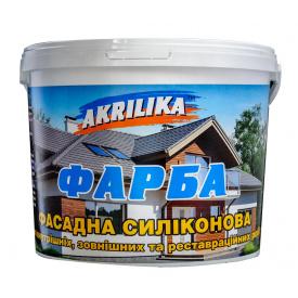 Akrilika Краска фасадная силиконовая 4,2 кг