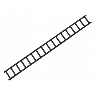 Решетка снегозадержателя сталь IVT 8017 коричневый 20х200 см 2 мм