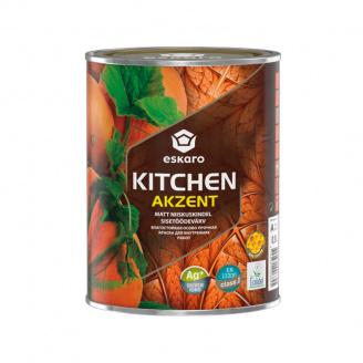 Mатовая акриловая краска Eskaro Akzent Kitchen 0,9 л