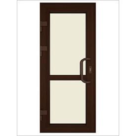 Двері вхідні ламіновані ПВХ 900х2100 мм Дуб Монтана