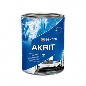 Краска Eskaro Akrit 7 TR 0,9 л