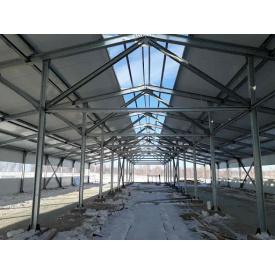 Будівництво комплексів для великої рогатої худоби під ключ