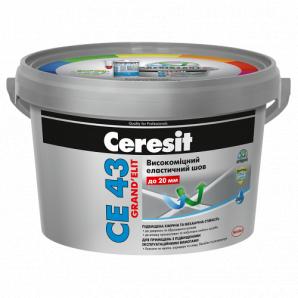 СЕ 43 эластичный водостойкий шов до 20 мм серый 2кг