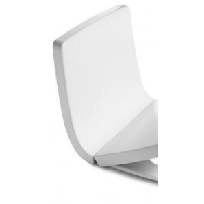 KHROMA знімна панель на передню частину бачка білий лак Roca А80165А004