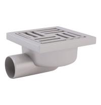 Трап ANI Plast TA5110 горизонтальний з пластиковою сіткою 150х150