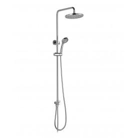 Система душова без змішувача верхній та ручний душ 3 режими шланг 1,5 м IMPRESE T-15084