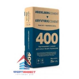 Цемент ПЦ ІІ/А-Ш-400 25 кг
