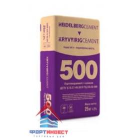 Цемент ПЦ-500-Д20 ХайдельбергЦемент 25 кг