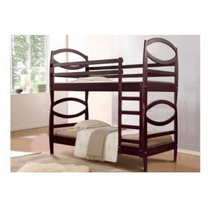 Дерев'яна двох'ярусна ліжко Вікторія 900x2000