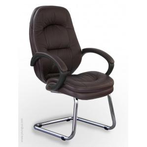 Комфортне комп'ютерне крісло на полозах Хілтон з