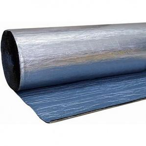 Шумоізоляція фольгований каучук з клеєм 6 мм 15 м2