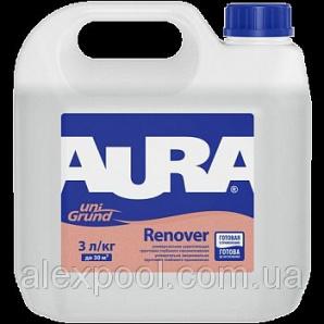 Aura Unigrund Renover 1 л зміцнююча грунтовка Універсальна глибокого проникнення