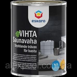 Eskaro Saunavaha Vihta 0,9 л Декоративно-захисний засіб для дерев'яних банних поверхонь