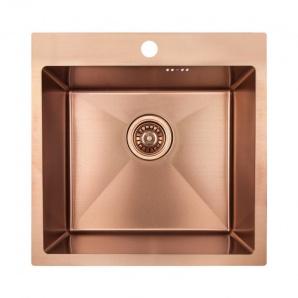 Кухонна мийка Imperial Handmade D5050BR 2.7/1.0 мм (IMPD5050BRPVDH12)