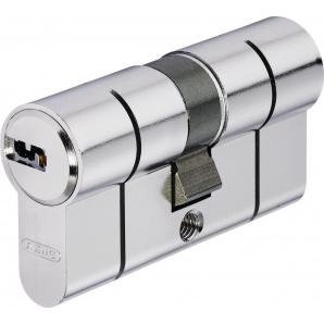 Цилиндр замка ABUS D6PS ключ-ключ усиленная защита 90 мм 35х55 никель 5 ключей