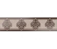 Плитка Арізона коричневий ФРИЗ 250x60 1сорт Б37311