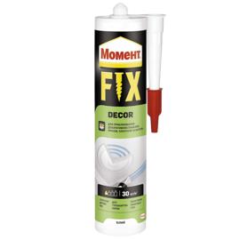 МОМЕНТ FIX Decor 400г Монтажный клей (Жидкие гвозди белые)