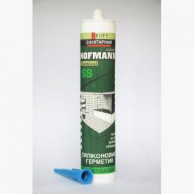 Герметик HOFMANN GP санітарний 280мл білий
