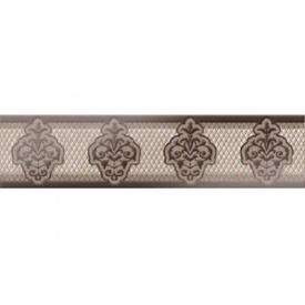 Плитка Аризона коричневый ФРИЗ 250x60 1сорт Б37311