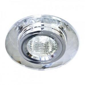 Вбудований світильник Feron 8050-2 срібло