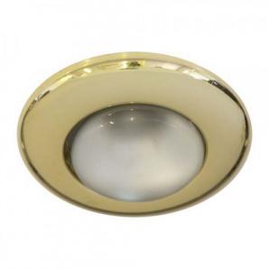 Вбудований світильник Feron 2767 R-50 золото
