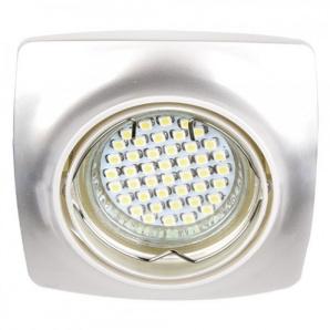 Вбудований світильник Feron DL6045 перлове срібло