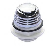 Кнопка включення Аква метал хром (28.030)