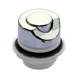 Кнопка включения Дюна металл хром (28.090)