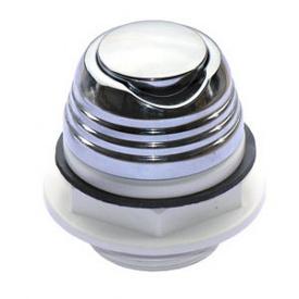 Кнопка включения Аква металл хром (28.030)