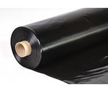 Плівка будівельна чорна 1,5х200 вт 50 пог.м