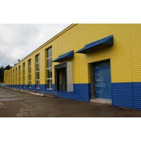 Сайдинг для фасадів металевий (Україна)