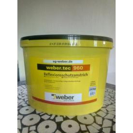 weber.tec 960 24 кг Высокоэластичная полимерная гидроизоляция для крыш