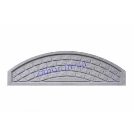 Плита арка глухая под кирпич бетонная 2х0,25 м
