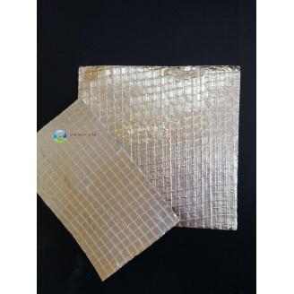 Высокотемпературная армированная фольга двухсторонняя Фолар тип Б от -40 до +300 градусов