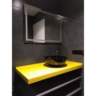 Стільниця в ванну кімнату з Lotte Staron SS 042