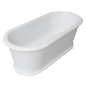 Ванна 180x85x63,5 см окремостояча з сифоном
