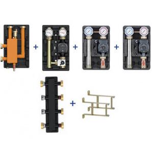 Пакетна пропозиція Meibes UK UK MK без насосів колектор стрілка консолі Action-4